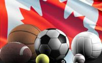 sport drapeau Canada ballon football rugby volley basket balle de tennis